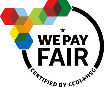Logo WE PAY FAIR