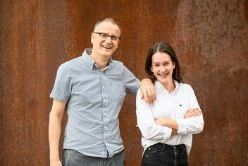 Martin Keller con sua figlia Joy Keller