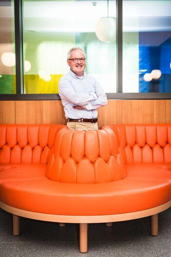 Fredy Egg lavora in azienda da 36 anni.