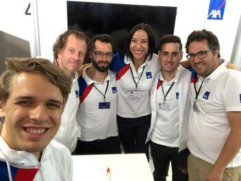 AXA Crew am HackZurich